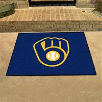 "Milwaukee Brewers Allstar Rug 34""x45"""