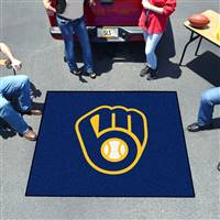"Milwaukee Brewers Tailgating Mat 60""x72"""