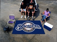 "Milwaukee Brewers Ulti-Mat Tailgating Mat 60""x96"""