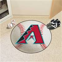 "Arizona Diamondbacks Baseball Rug 29"" Diameter"