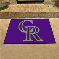 "Colorado Rockies Allstar Rug 34""x45"""