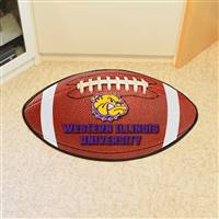 "Western Illinois Leathernecks Football Rug, 22"" x 35"""