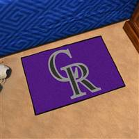 "Colorado Rockies Starter Rug 20""x30"""