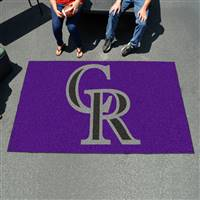 "Colorado Rockies Ulti-Mat Tailgating Mat 60""x96"""