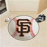 "San Francisco Giants Baseball Rug 29"" Diameter"