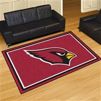 "Arizona Cardinals 5x8 Area Rug 60""x92"""