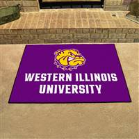 "Western Illinois Leathernecks All-Star Rug, 34"" x 45"""