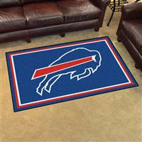 "Buffalo Bills 4x6 Area Rug 46""x72"""