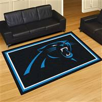"Carolina Panthers 5x8 Area Rug 60""x92"""
