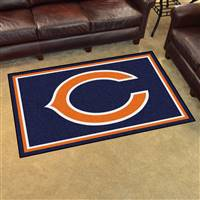 "Chicago Bears 4x6 Area Rug 46""x72"""
