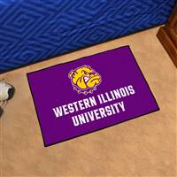 "Western Illinois Leathernecks Starter Rug, 20"" x 30"""