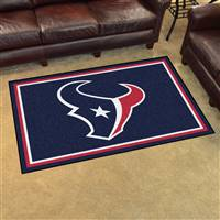 "Houston Texans 4x6 Area Rug 46""x72"""