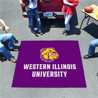 "Western Illinois Leathernecks Tailgater Rug, 60"" x 72"""