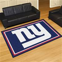 "New York Giants 5x8 Area Rug 60""x92"""