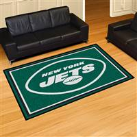 "New York Jets 5x8 Area Rug 60""x92"""