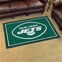 "New York Jets 4x6 Area Rug 46""x72"""