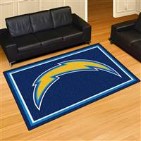 "San Diego Chargers 5x8 Area Rug 60""x92"""