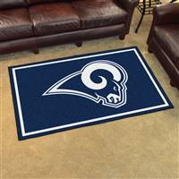"St Louis Rams 4x6 Area Rug 46""x72"""