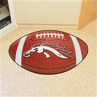 "Western Michigan University Football Mat 20.5""x32.5"""