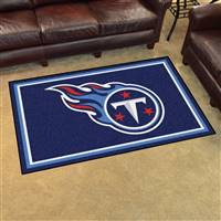 "Tennessee Titans 4x6 Area Rug 46""x72"""