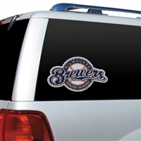 Milwaukee Brewers Diecut Window Film