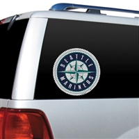 Seattle Mariners Diecut Window Film