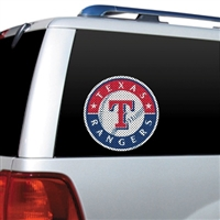 Texas Rangers Diecut Window Film