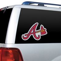 Atlanta Braves Diecut Window Film