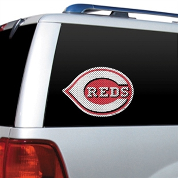 Cincinnati Reds Diecut Window Film
