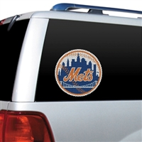 New York Mets Diecut Window Film