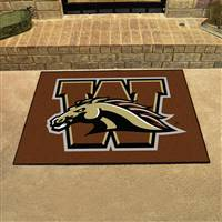 "Western Michigan University All-Star Mat 33.75""x42.5"""