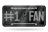 San Antonio Spurs License Plate #1 Fan
