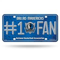 Dallas Mavericks License Plate #1 Fan - Special Order