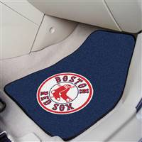 "Boston Red Sox 2-piece Carpeted Car Mats 18""x27"""