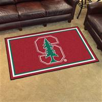 "Stanford Cardinal 4x6 Area Rug 46""x72"""