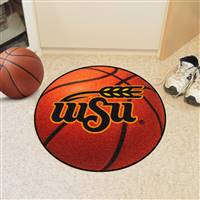 "Wichita State Shockers Basketball Rug 29"" diameter"