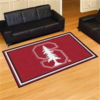 "Stanford Cardinal 5x8 Area Rug 60""x92"""