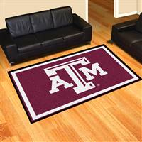 "Texas A&M Aggies 5x8 Area Rug 60""x92"""