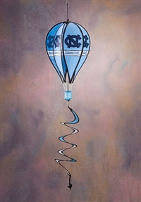 North Carolina Tar Heels Hot Air Balloon Spinner