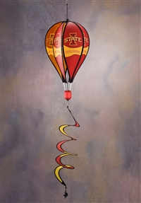 Iowa State Cyclones Hot Air Balloon Spinner