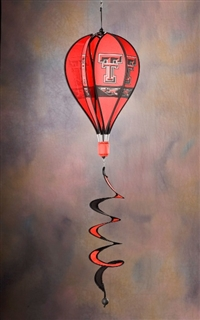 Texas Tech Red Raiders Hot Air Balloon Spinner