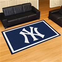 "New York Yankees 5x8 Area Rug 60""x92"""