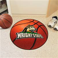 "Wright State Raiders Basketball Rug 29"" diameter"