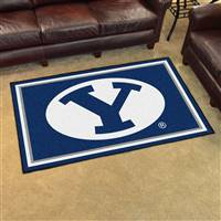 "Brigham Young BYU Cougars 4x6 Area Rug 46""x72"""