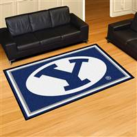 "Brigham Young BYU Cougars 5x8 Area Rug 60""x92"""