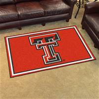 "Texas Tech Red Raiders 4x6 Area Rug 46""x72"""