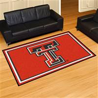 "Texas Tech Red Raiders 5x8 Area Rug 60""x92"""