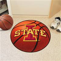 "Iowa State Cyclones Basketball Rug 29"" Diameter"