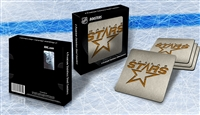 Sportula Dallas Stars Premium Stainless Steel Boasters - 4 Pack