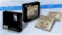 Sportula Vancouver Canucks Premium Stainless Steel Boasters - 4 Pack